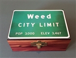 Cedar Box - Weed City Limit