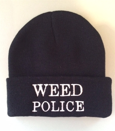 Weed Police Beanie 520abeac8d9