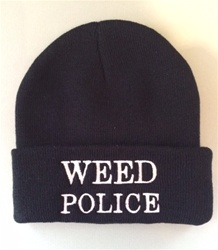 Weed Police Beanie
