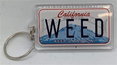 Key Chain - License Plate