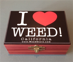 Cedar Box - I Heart (Black)